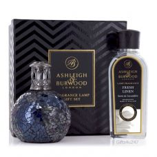 Ashleigh & Burwood Fragrance  Lamp Gift Set - Neptune & Fresh Linen Lamp Oil